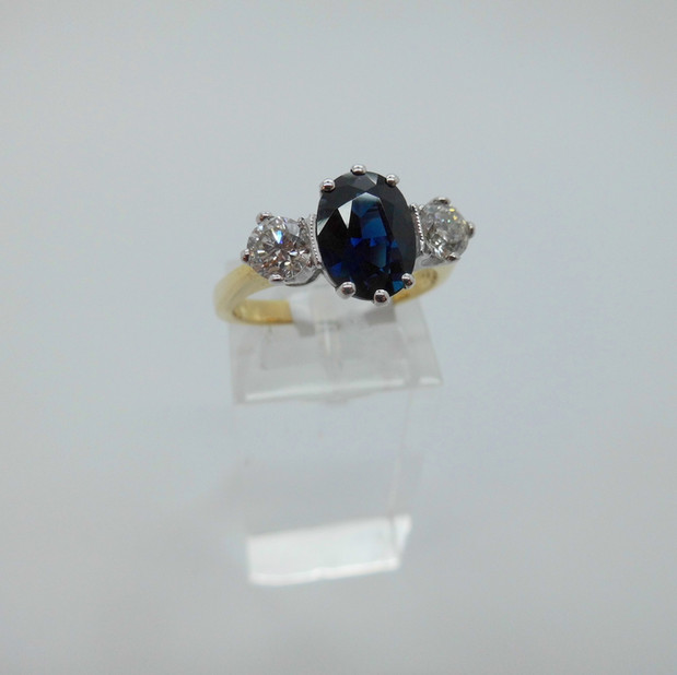 Sapphire and Diamond Ring £3000.00