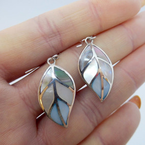 Silver and Mother of Pearl Drops £24.95 SOLD