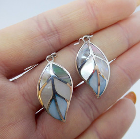 Silver and Mother of Pearl Drops £24.95