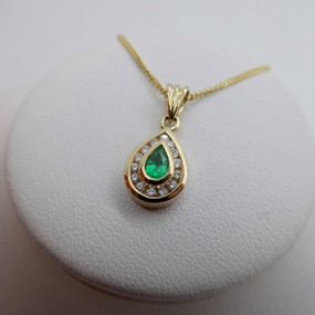Emerald and Diamond Necklet £590.00
