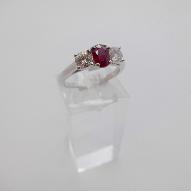 Ruby and Diamond Ring £1475.00