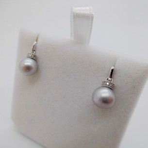 Pearl Drop earrings £175.00