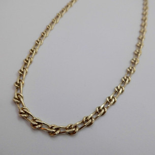 """SOLD 28"""" Yellow Gold Necklet £1365.00"""