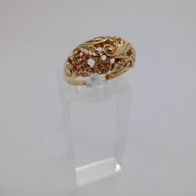 Yellow Gold Ring £155.00 SOLD