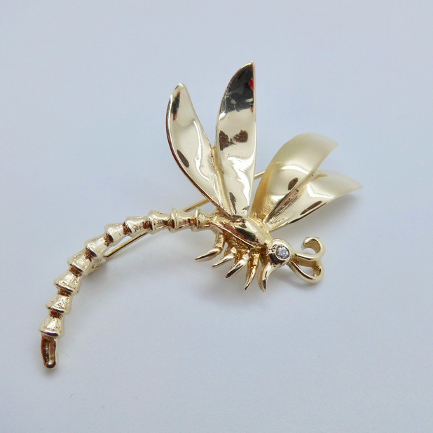 SOLD Dragonfly Brooch £265.00
