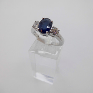 Sapphire and Diamond Ring £2350.00