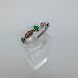 Emerald and Diamond Ring  £255.00