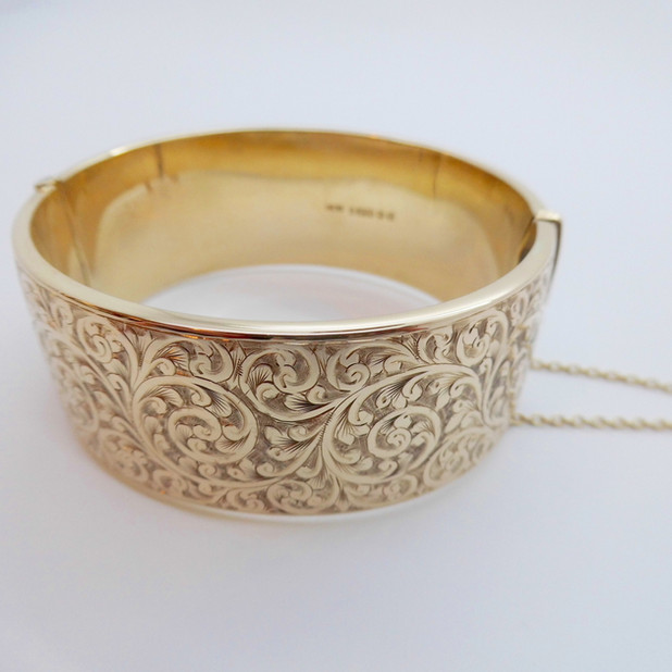 Yellow Gold Bangle £1050.00