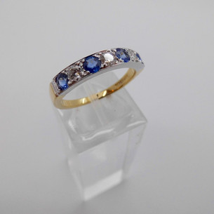 Sapphire and Diamond Ring £1150.00
