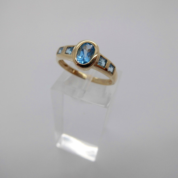 Blue Topaz Ring £125.00 SOLD