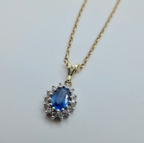 Sapphire and Diamond Necklet £395.00 SOLD