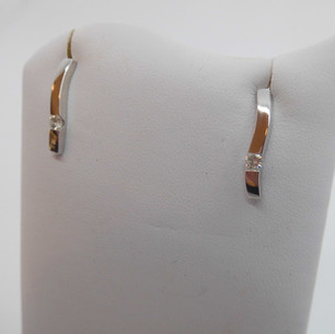 White gold and Diamond Earrings £350.00