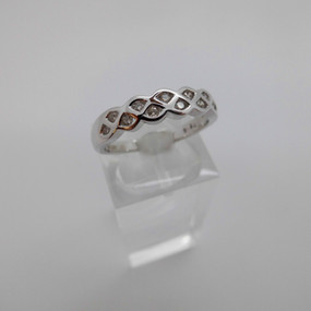 White Gold and Diamond Ring £255.00