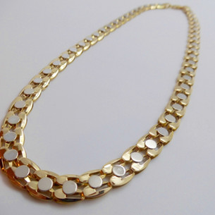 White and Yellow Gold Necklet £1950.00