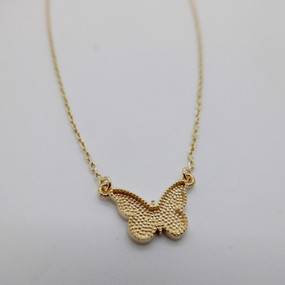 Yellow gold butterfly £160.00
