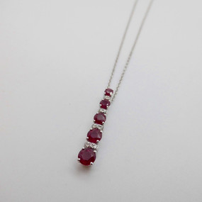 Ruby Pendant £755.00 SOLD