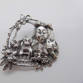Silver Brooch £34.95 SOLD