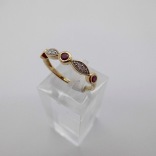 Ruby and Diamond Ring £255.00