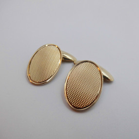 Yellow Gold Cufflinks £385.00