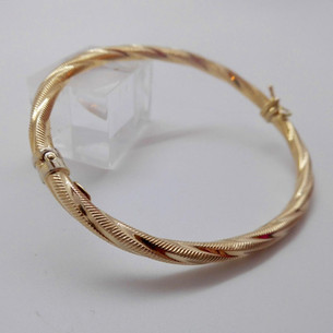 Twisted Bangle £210.00 SOLD