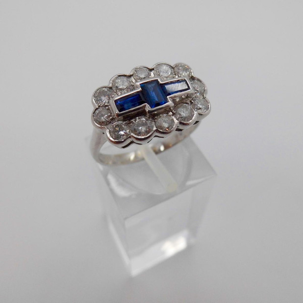 Sapphire and Diamond ring £2150.00