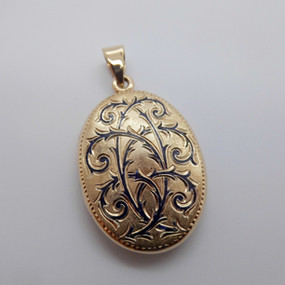 Yellow Gold Locket £425.00