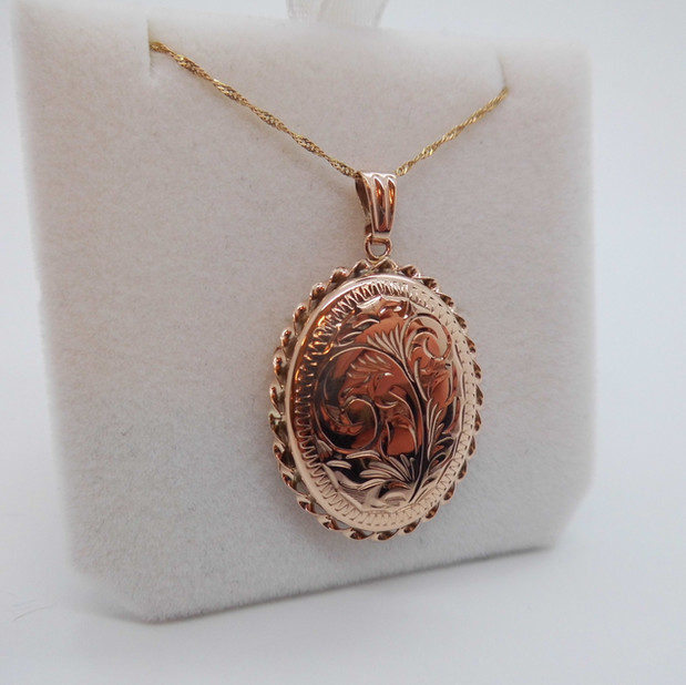 Rose Gold Locket £225.00