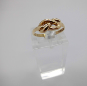 Yellow Gold Knot Ring £59.95 SOLD