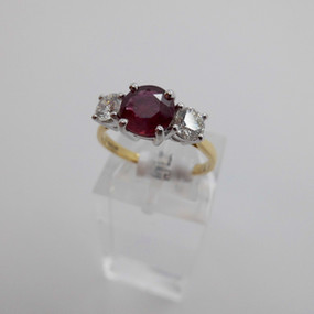 Ruby and Diamond Ring £2650.00