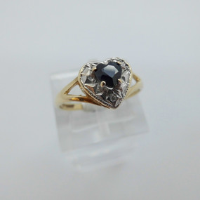Sapphire and Diamond Ring £75.00 SOLD