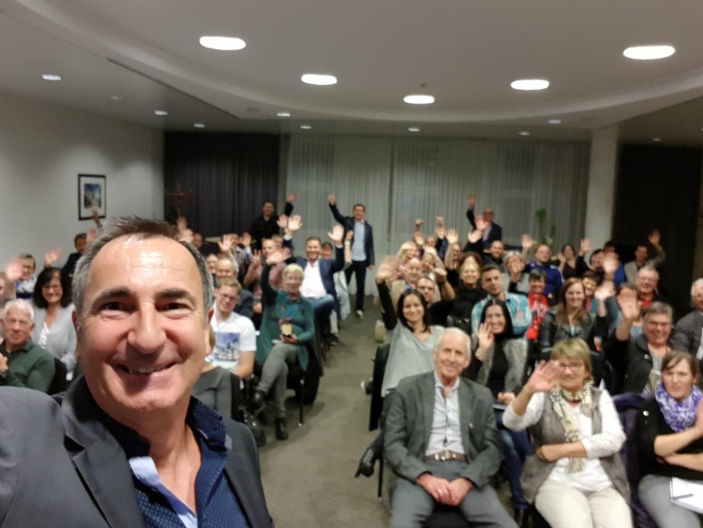 Bernd Rohr bei einem Business Meeting in Salzburg