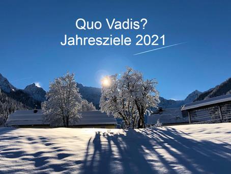 Quo Vadis? - Jahresziele 2021