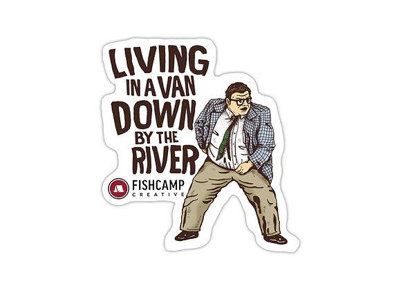 Matt Foley Van Sticker