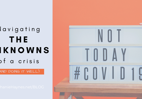 Navigating the Unknowns of a Crisis Well