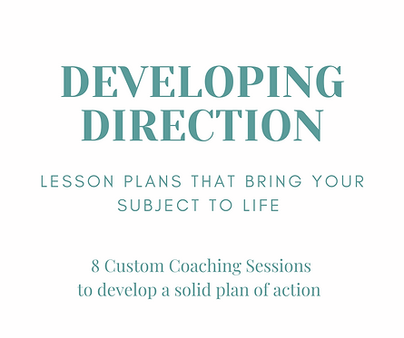 Developing Direction Custom Coaching Package