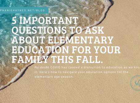 Elementary School and COVID: Survival Strategies for Parents