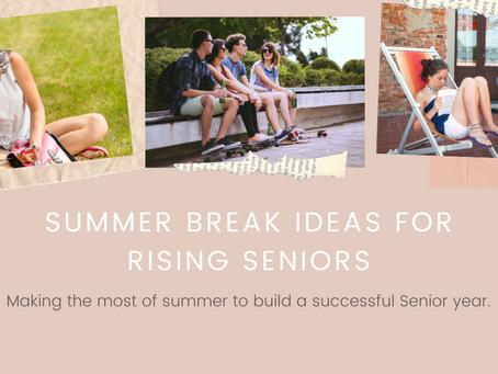 Building Success: Rising Senior Summer Planning Guide