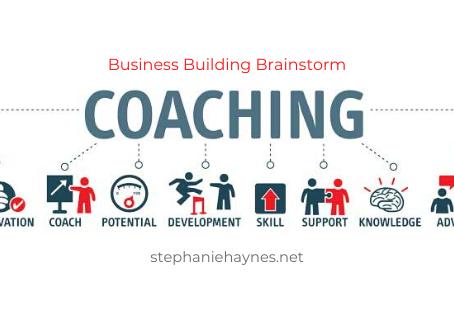 Business Building Brainstorm for Coaches