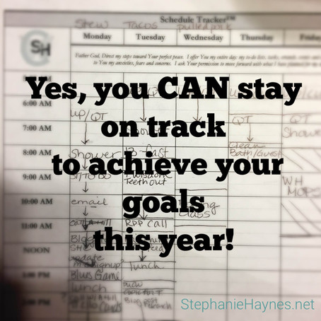 How to Stay on Track to Achieving Your Goals this Year