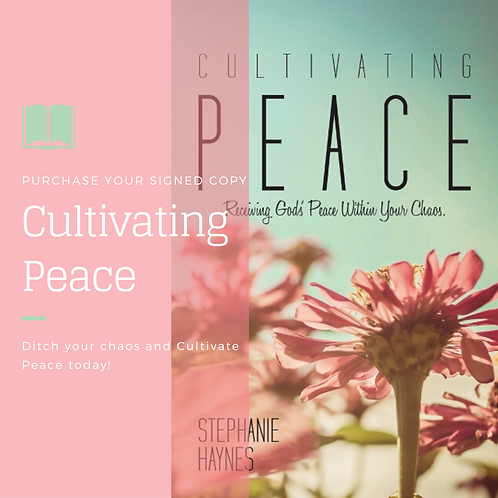 Autographed Copy of Cultivating Peace