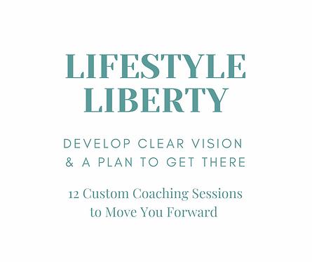 Lifestyle Liberty Custom Coaching Package