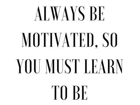 5 Tips for Building Motivation