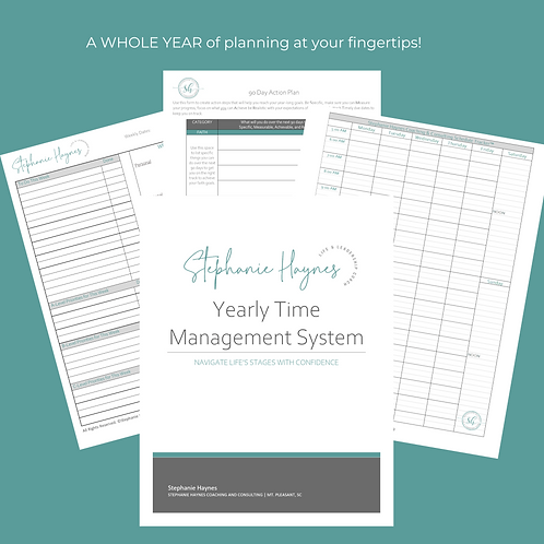2020 Stephanie Haynes Yearly Schedule Management System