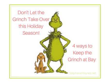 Keeping the Grinch at Bay