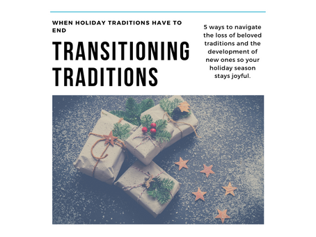 Transitioning Traditions