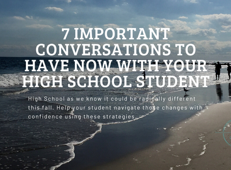 Give Your High School Student the Best Chance at Success in School this Fall