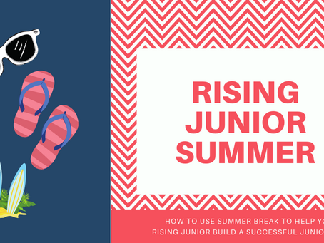 Building Success: Rising Junior Summer Planning Guide
