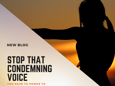 How to Stop that Condemning Voice