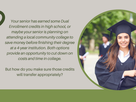 How to Prepare Your Teen to Use Dual Enrollment or Transfer Credits Wisely
