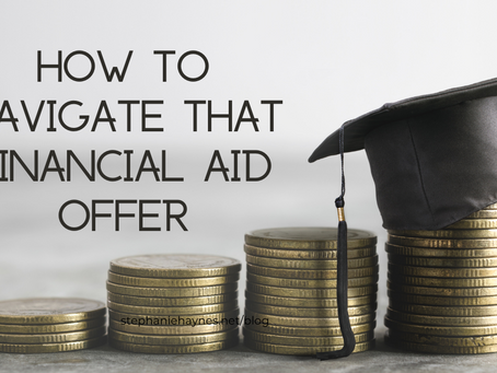How to Navigate that Financial Aid Offer